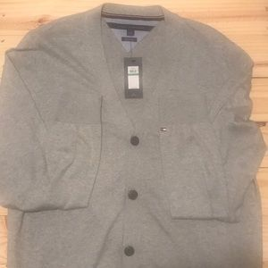 Tommy Hilfiger Men's Cardigan Sweater w/ Buttons